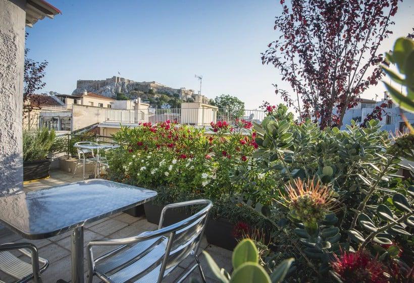 Terrasse Hotel Kimon  Athen