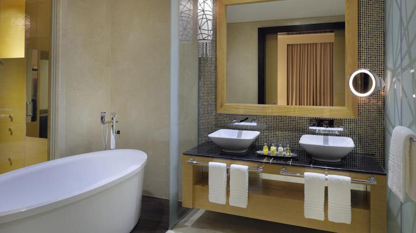 Badezimmer Marriott Hotel Al Jaddaf Dubai