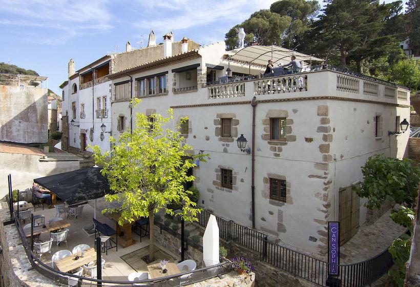 Aussenbereich Casa Granados Hotel Boutique Tossa de Mar
