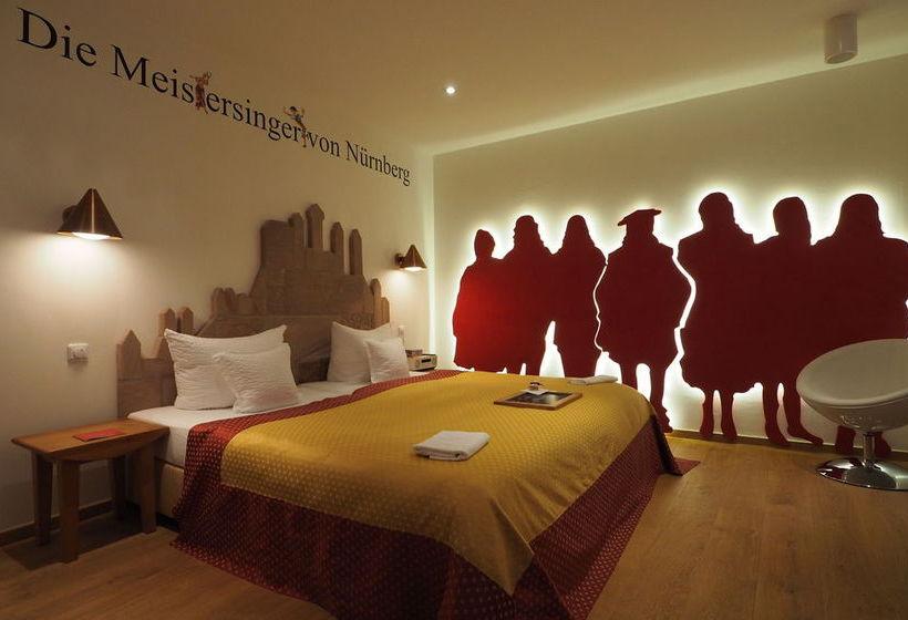 h tel drei raben nuremberg partir de 72 destinia. Black Bedroom Furniture Sets. Home Design Ideas