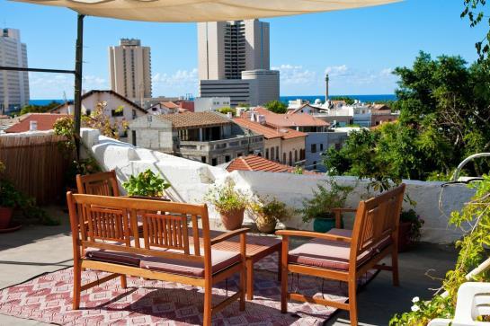 Villa Vilina Oasis In Neve Tzedek Tel Aviv