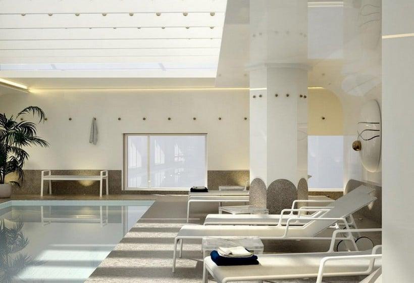 swimming pool hotel barcel torre de madrid