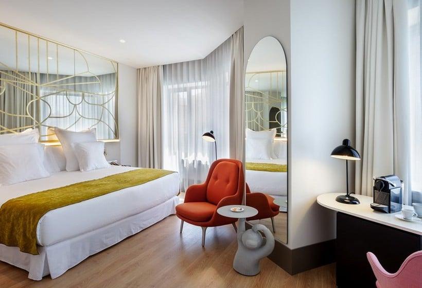 room hotel barcel torre de madrid