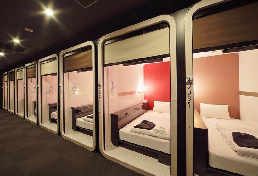 Habitación Hotel Cápsula First Cabin Atagoyama Tokio